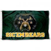 Baylor Bear Eye Flag