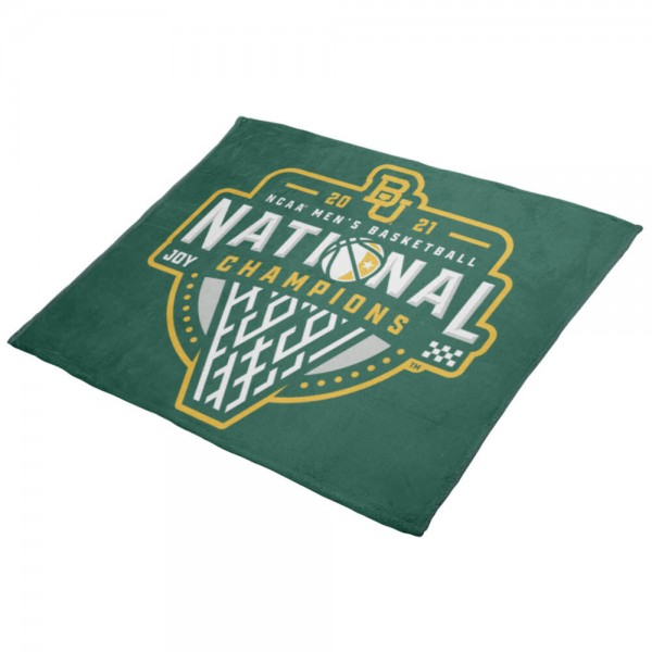 Baylor Bears 2021 National Basketball Championship Lightweight Throw Blanket is perfect for all your tailgating, festival, dorm, home, and camping needs. Each soft and plush throw blanket measures 50x60 inches, is made of lightweight 265 GSM polyester, offers dye sublimated school logos and team names and slogans, has 1-piece seamless construction, and is available with Express Shipping. A perfect dorm gift for the incoming freshman and ideal for any alumni, fan, or graduate.