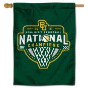 Baylor Bears Basketball National Champions Double Sided House Flag