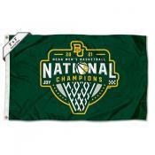 Baylor Bears College Basketball Champions 2x3 Foot Flag