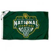 Baylor Bears College Basketball National Champions Large 4x6 Flag