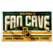 Baylor Bears Fan Man Cave Game Room Banner Flag