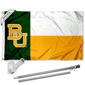 Baylor Bears Flag Pole and Bracket Kit