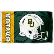 Baylor Bears Football Helmet Flag