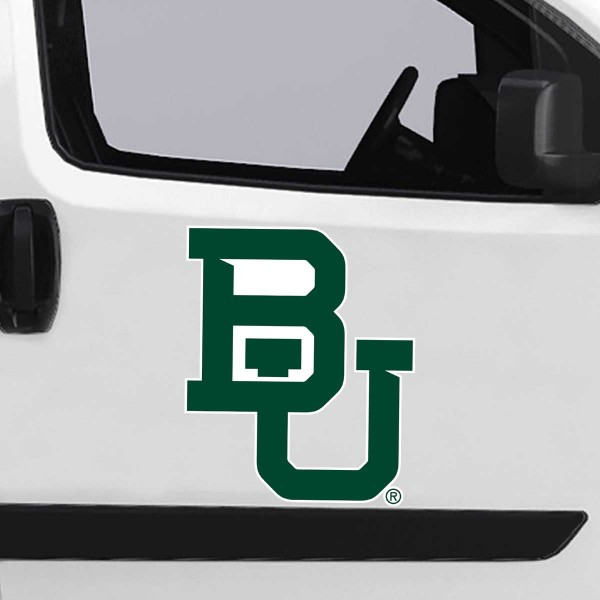 Baylor Bears Large Magnet is ideal for inside or outside uses, car and auto door panels, and a great gift idea. Each magnet is a large 16x16 inches, is made of flexible 20 mil magnetic vinyl and has screen printed school logos and team names and slogans.