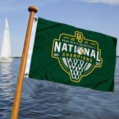 Baylor Bears Mens Basketball National Champions Boat and Mini Flag