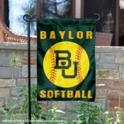 Baylor Bears Softball Garden Flag