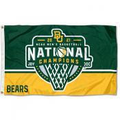 Baylor University 2021 Basketball National Champions Flag