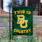 Baylor University Country Garden Flag
