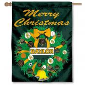 Baylor University Holiday Flag