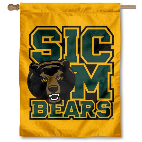 Baylor University Sic Em Banner Flag is a vertical house flag which measures 30x40 inches, is made of 2 ply 100% polyester, offers dye sublimated NCAA team insignias, and has a top pole sleeve to hang vertically. Our Baylor University Sic Em Banner Flag is officially licensed by the selected university and the NCAA.