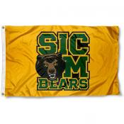 Baylor University Sic Em Bears Logo Flag