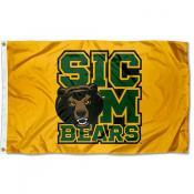 Baylor University Sic Em Bears Logo Flag