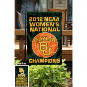 Baylor Womens National Champions Garden Flag