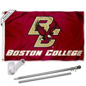 BC Eagles Flag Pole and Bracket Kit