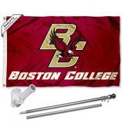 BC Eagles Flag Pole and Bracket Kit