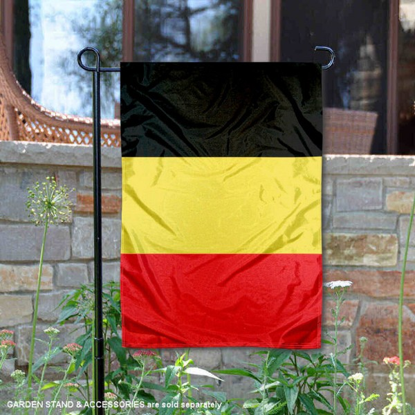 Belgium Double Sided Garden Flag is 13x18 inches in size, is made of 2-layer polyester, screen printed logos and lettering, and is viewable on both sides. Available same day shipping, our Belgium Double Sided Garden Flag is a great addition to your decorative garden flag selections.