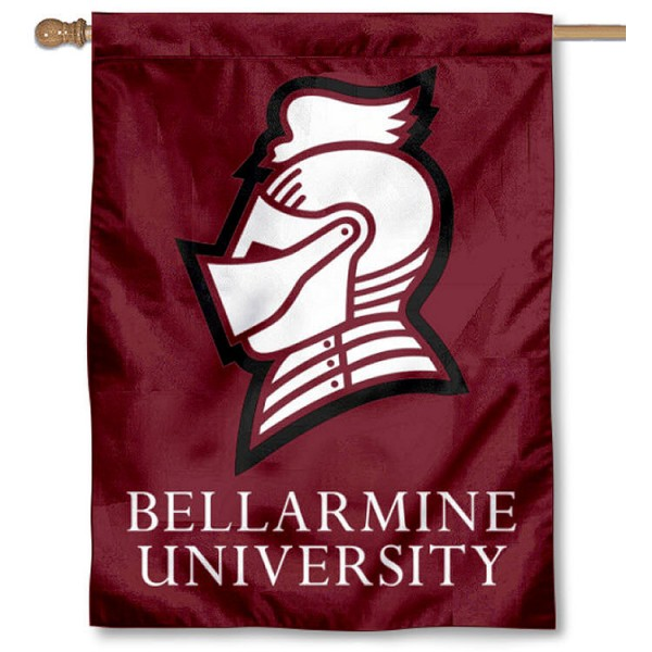 Bellarmine BU Knights House Flag is a vertical house flag which measures 30x40 inches, is made of 2 ply 100% polyester, offers screen printed NCAA team insignias, and has a top pole sleeve to hang vertically. Our Bellarmine BU Knights House Flag is officially licensed by the selected university and the NCAA.