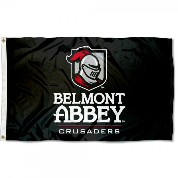 Belmont Abbey Flag measures 3x5 feet, is made of 100% polyester, offers quadruple stitched flyends, has two metal grommets, and offers screen printed NCAA team logos and insignias. Our Belmont Abbey Flag is officially licensed by the selected university and NCAA.
