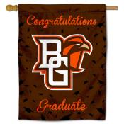 BGSU Falcons Congratulations Graduate Flag