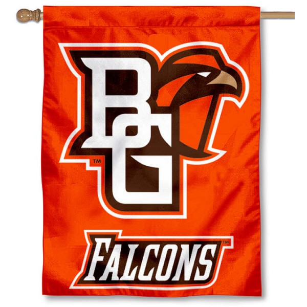 BGSU House Flag is a vertical house flag which measures 30x40 inches, is made of 2 ply 100% polyester, offers dye sublimated NCAA team insignias, and has a top pole sleeve to hang vertically. Our BGSU House Flag is officially licensed by the selected university and the NCAA