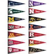 Big Ten Conference Pennants