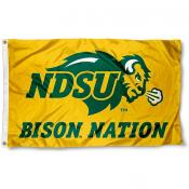 Bison Nation Gold 3x5 Flag