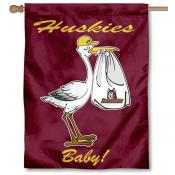 Bloomsburg Huskies New Baby Flag