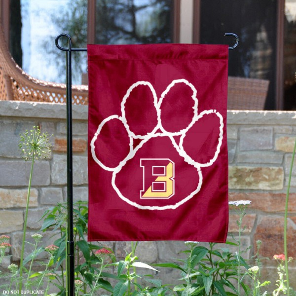 Bloomsburg University Garden Flag is 13x18 inches in size, is made of 2-layer polyester, screen printed Bloomsburg University athletic logos and lettering. Available with Same Day Express Shipping, Our Bloomsburg University Garden Flag is officially licensed and approved by Bloomsburg University and the NCAA.