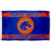 Boise State Broncos 2020 Basketball Conference Champions Flag