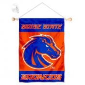 Boise State Broncos Banner with Suction Cup