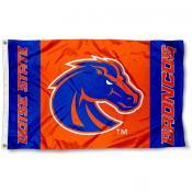 Boise State Broncos Logo Flag
