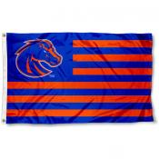 Boise State Broncos Stripes Flag