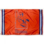Boise State Broncos Throwback Vault Logo Flag