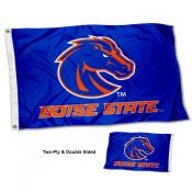 Boise State Broncos Wordmark Double Sided Flag