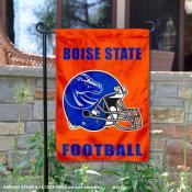 Boise State Helmet Yard Garden Flag