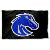 Boise State University Black 3x5 Flag