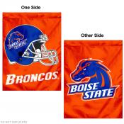 Boise State University Double Logo House Flag