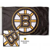 Boston Bruins Embroidered Nylon Flag