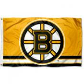 Boston Bruins Gold Flag