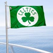 Boston Celtics Boat and Nautical Flag