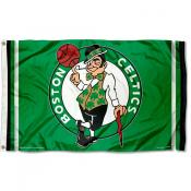 Boston Celtics Green Team Flag