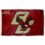 Boston College Eagles ACC Logo Flag