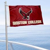Boston College Eagles Boat and Mini Flag