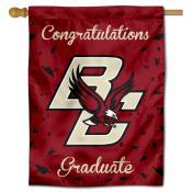Boston College Eagles Congratulations Graduate Flag
