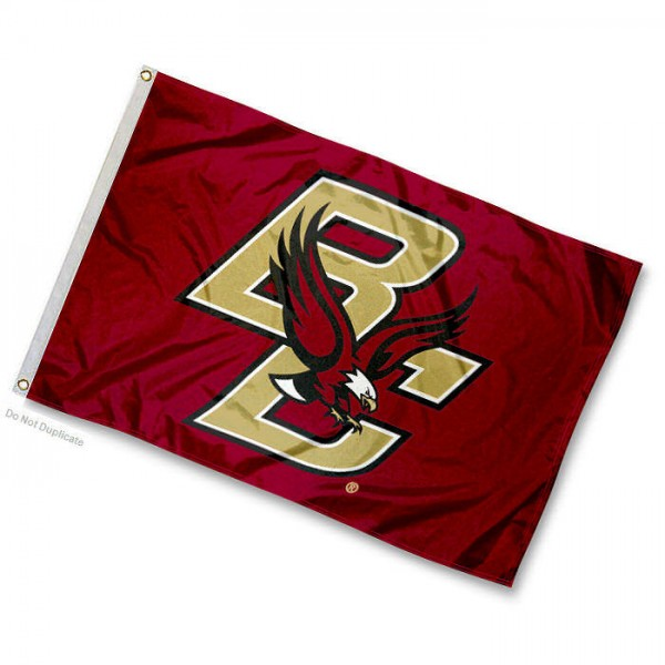 Boston College Mini Flag is 12x18 inches, made of 100% Nylon, offers two-stitched flyends for durability, has two metal grommets, and is Double Sided. Our mini flags for Boston College are licensed by the university and NCAA and can be used as a boat flag, motorcycle flag, golf cart flag, or ATV flag.