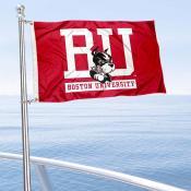 Boston Terriers Boat and Mini Flag