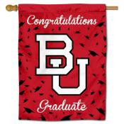 Boston Terriers Congratulations Graduate Flag