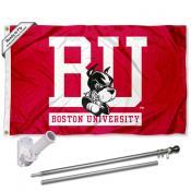 Boston Terriers Flag Pole and Bracket Kit