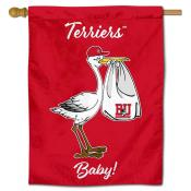 Boston Terriers New Baby Flag